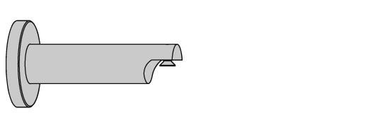 EXTRA WANDSTEUN 8CM WIT 20mm