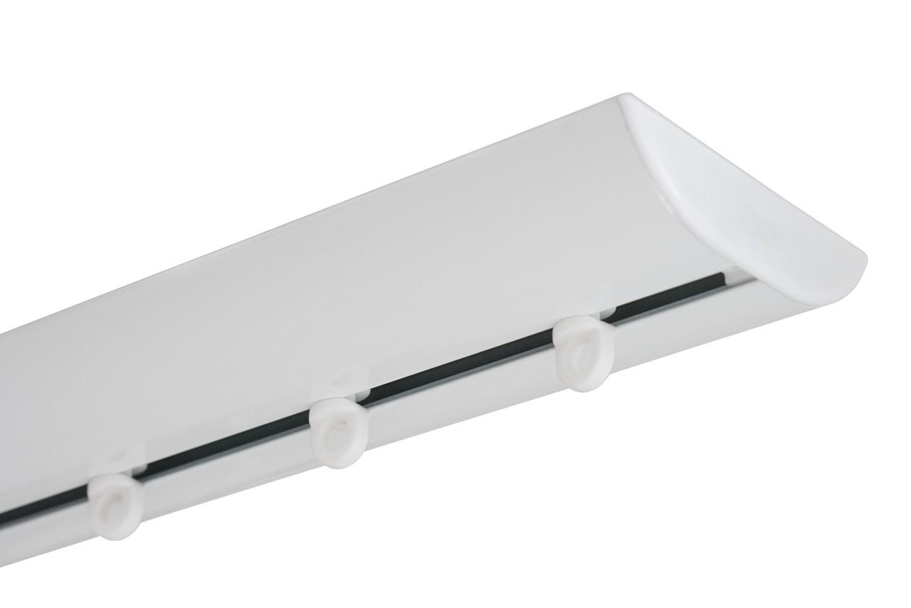 GORDIJNRAILS DS XL WIT - LUXE RAIL