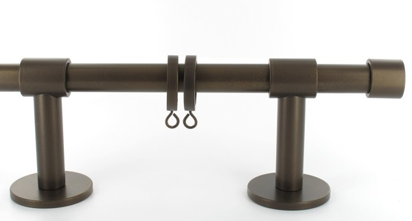GORDIJNRING MAATWERK BRONS 21mm