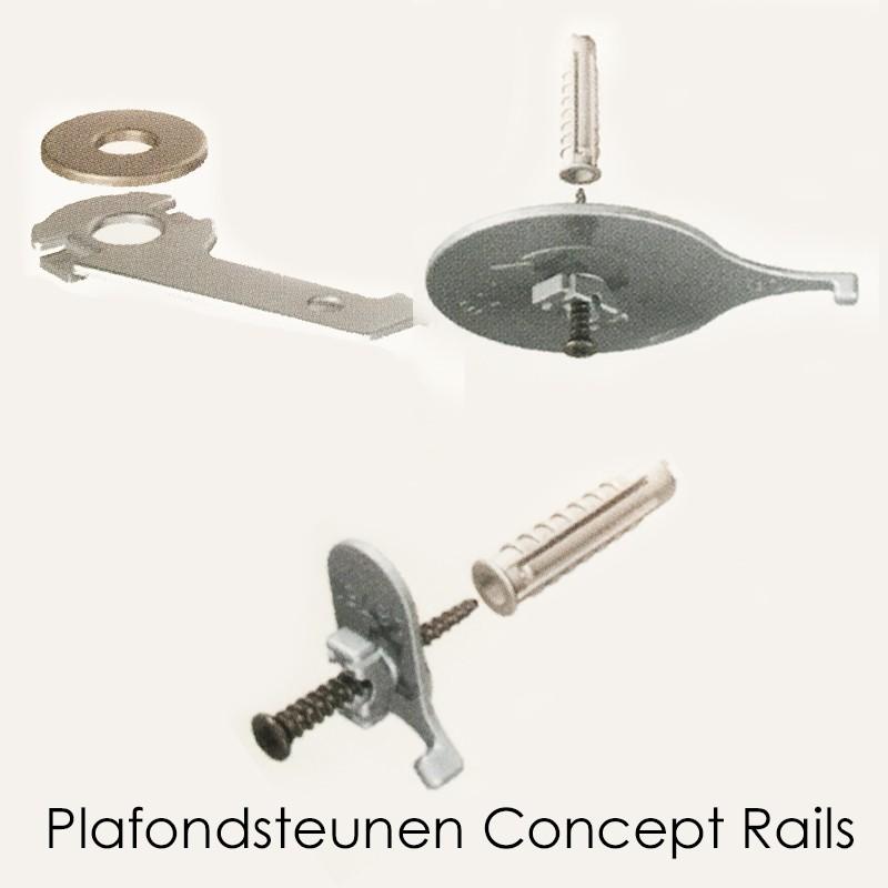 Plafondsteun Concept Rails