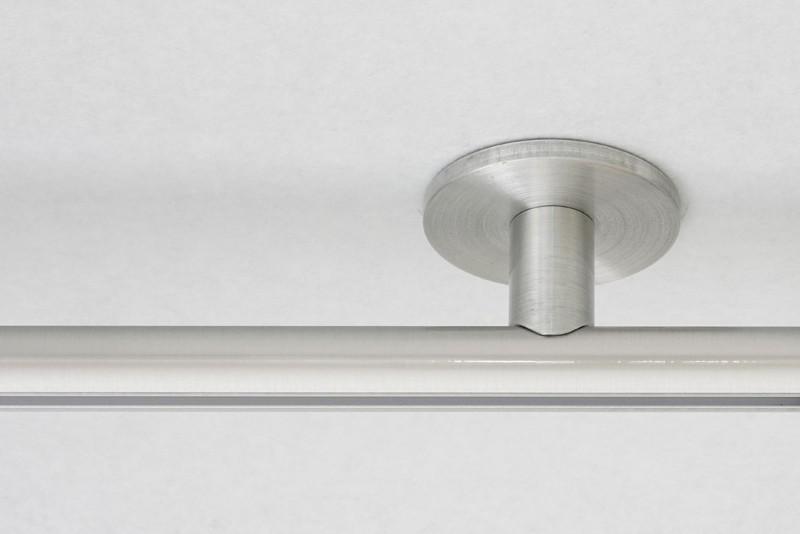 LUXE PLAFONDSTEUN MAATWERK 28MM RVS-look - 3cm