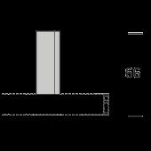 EXTRA PLAFONDSTEUN 5CM CUBUS voor 16mm rail