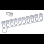 GLIJDER voor gordijnrails KS-Stucrail, DS XL, Multi Channel