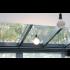 INTERSTIL RAILROEDE SPHERE WIT 35MM - met 5cm afgeschuinde plafondsteunen