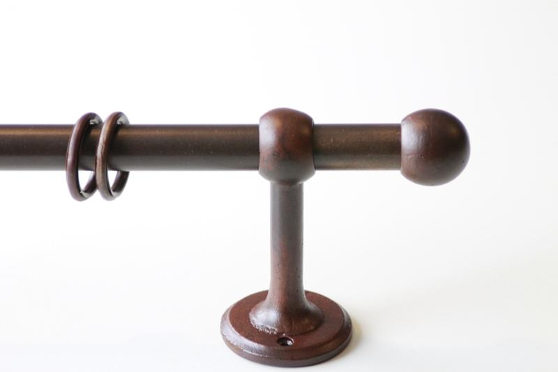Gordijnroede Balfor Roest 21mm