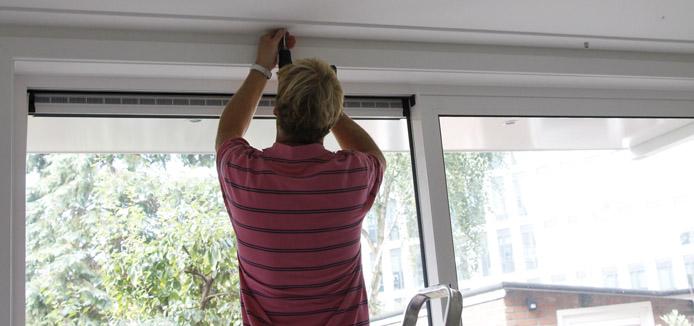 Gordijnroede monteren / ophangen