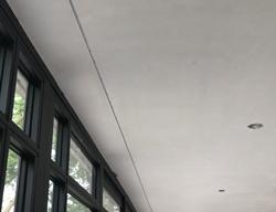 Stucrail in plafond - infrezen, instucen, inbouw