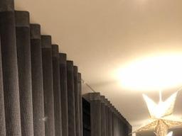Breda Stucrail met Wave gordijnen