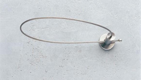 Kabel embrasse Edelstaal